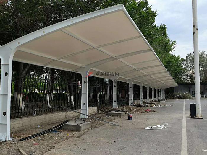 新疆石河子开发区汽车站膜结构车棚