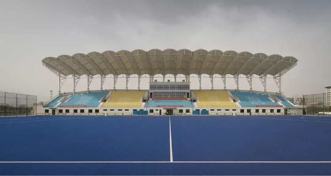 西安体育学院鄠邑校区膜结构看台案例