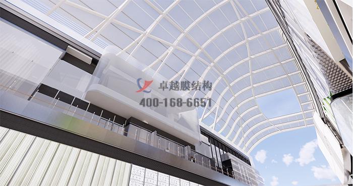 上海徐家汇中心商场ETFE膜结构