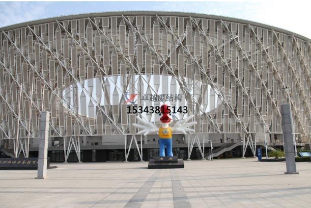 网格膜幕墙经典案例——惠州奥体中心