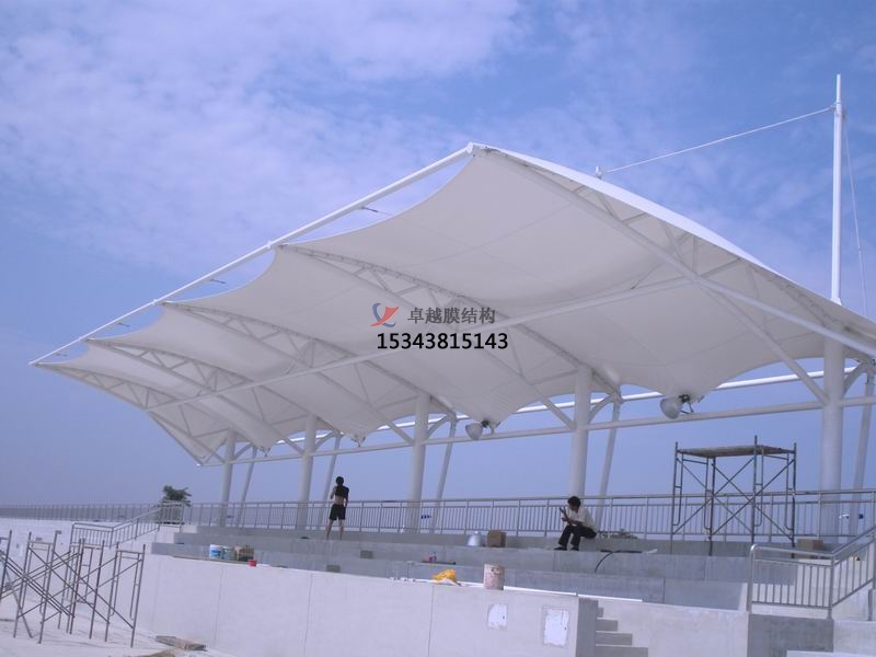 郑州风雨操场雨棚生产厂家设计施工案例