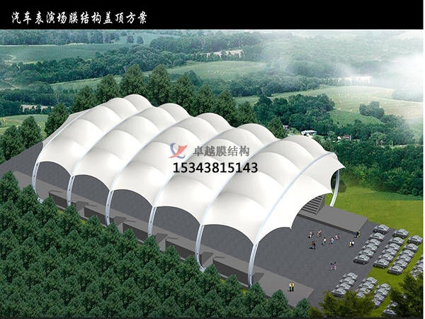 深圳体育场看台舞台顶棚/遮阳棚/效果图/设计施工