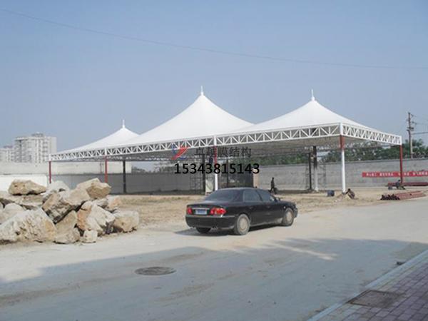 深圳加油站罩棚设计