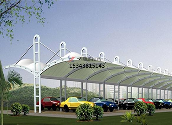 大连商业广场雨棚搭建