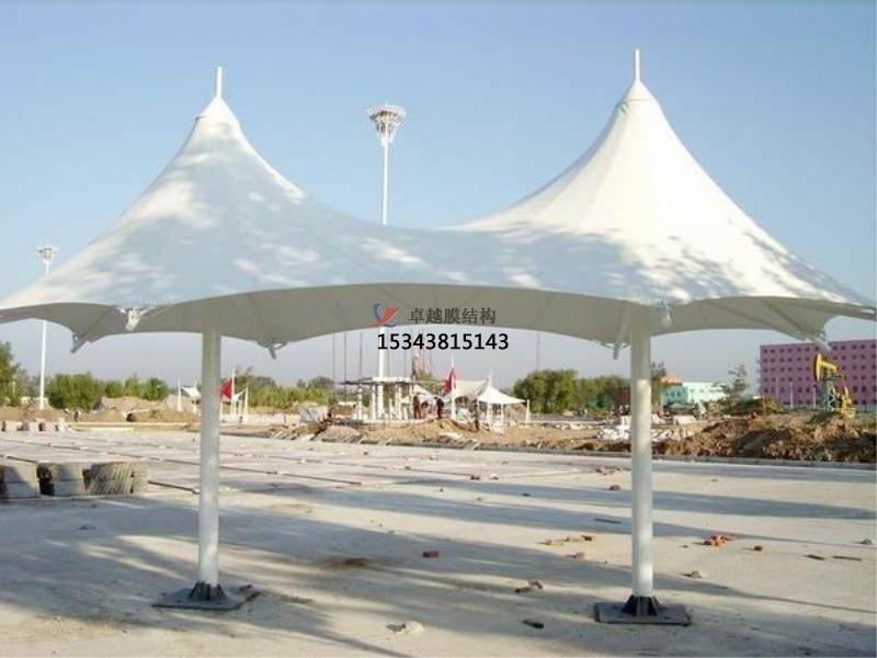 郑州景观膜结构遮阳棚