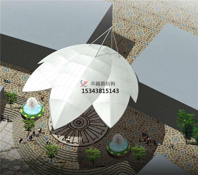北京膜结构景观效果图【设计分享】