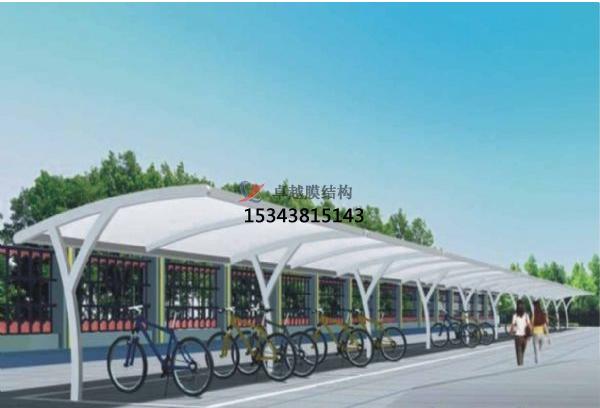 上海膜结构车棚效果图【案例大全】