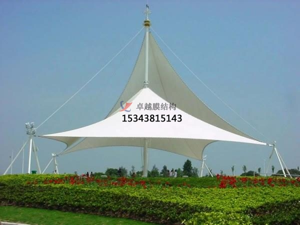 深圳景观膜结构遮阳棚