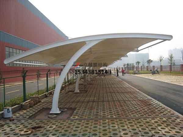 苏州商业广场雨棚搭建