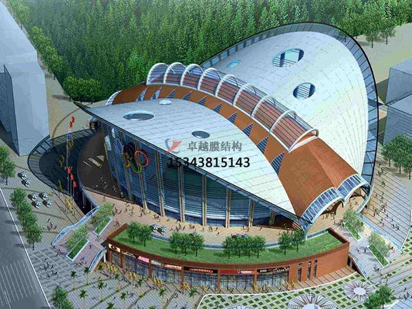 天津膜结构展览馆